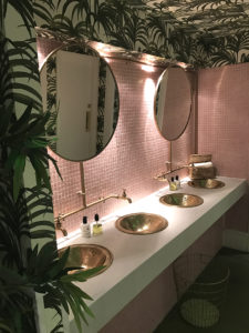 beauitful restaurant bathrooms